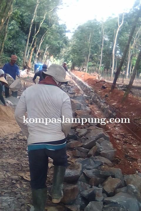 Kades Purwodadi Mekar Salurkan DD Tahap I Dan II Untuk Pembangunan Infrastruktur Dan BLT