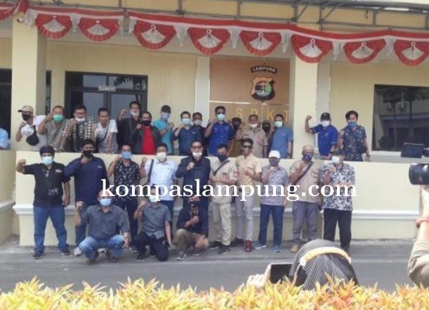 Perkara Herman HN Versus Wartawan Masuk Tahap Penyelidikan Polda Lampung