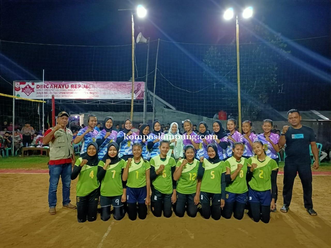 Anna Morinda Secara Resmi Tutup Tournament Volleyball GPC Cup 2020