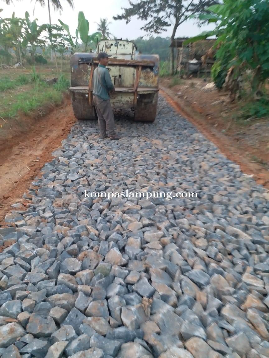 Lima Item Pembangunan Fisik Desa Margosari Selesai Lebih Awal