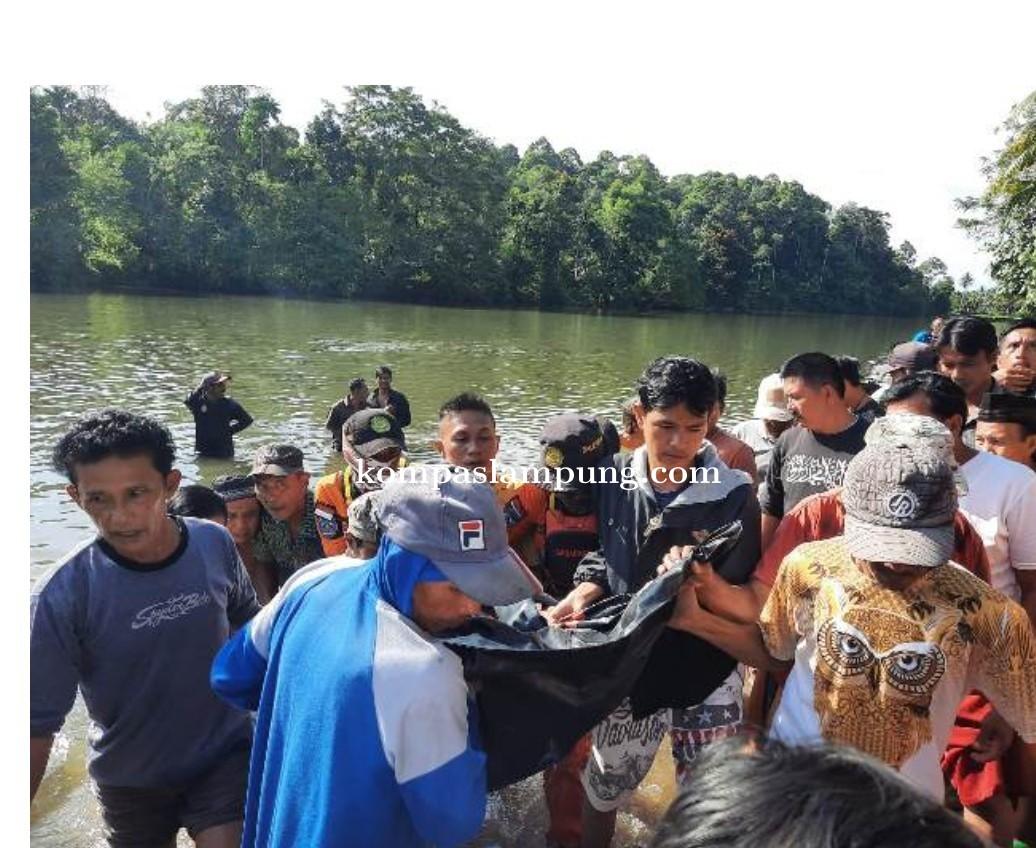 Korban Tenggelam di Pesisir Barat Ditemukan Meninggal Dunia
