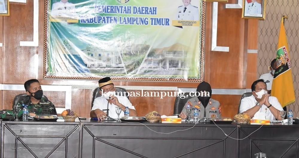 Pemkab Lampung Timur Gelar Rapat Persiapan HUT RI Ke-76