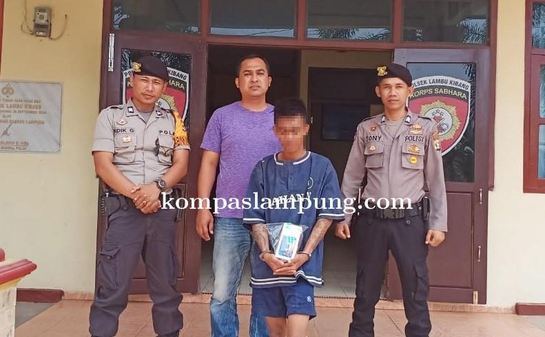 Polisi Tangkap Pelaku Pencurian Warung Pecel Lele Di Tulang Bawang Barat