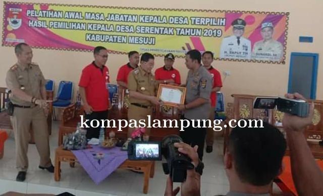 Kabupaten Mesuji Menggelar Pelatihan Kepala Desa  Guna Meningkatkan SDM