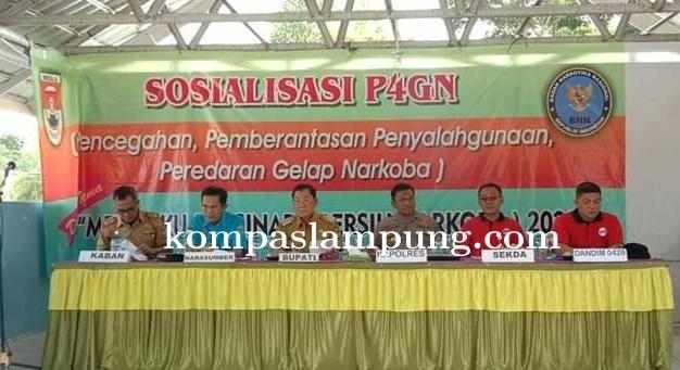 Bupati Mesuji Dalam Waktu Dekat Akan Mengusulkan Pembentukan BNN Mesuji