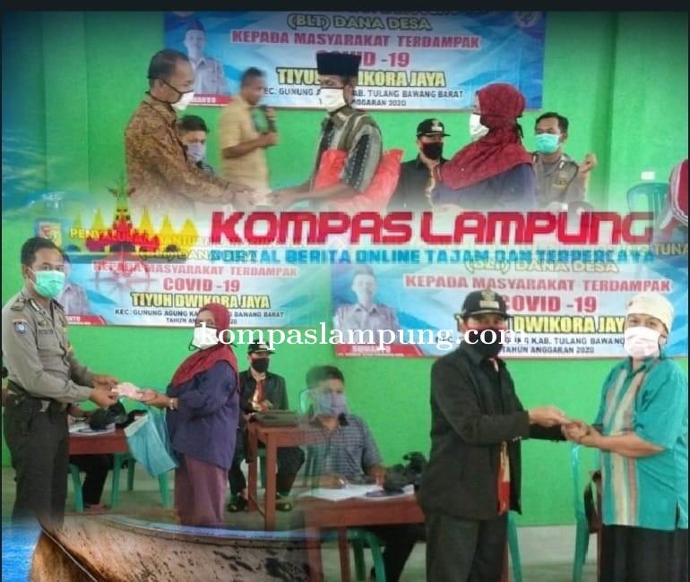 Pemerintahan Tiyuh Dwikora Jaya Berharap BLT Dari DD Ini Dapat Membantu Masyarakat