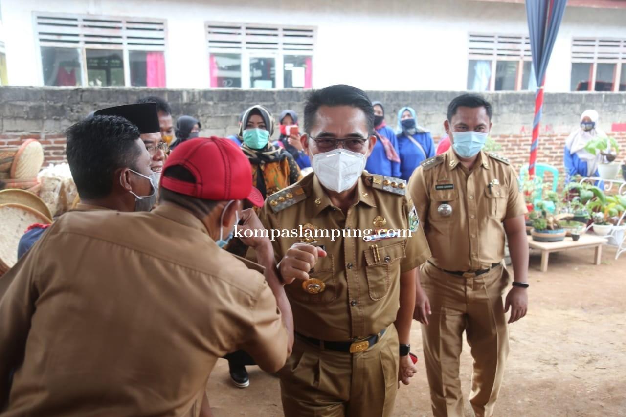Bupati Lampung Timur Memperingati Hari Kesetiakawanan Sosial Nasional