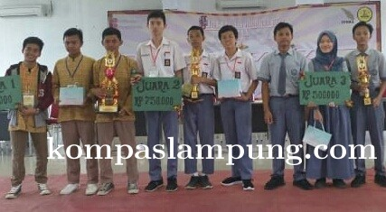 MAN 1 Lampung Tengah Jadi Juara 1 LCC Matematika Provinsi Lampung