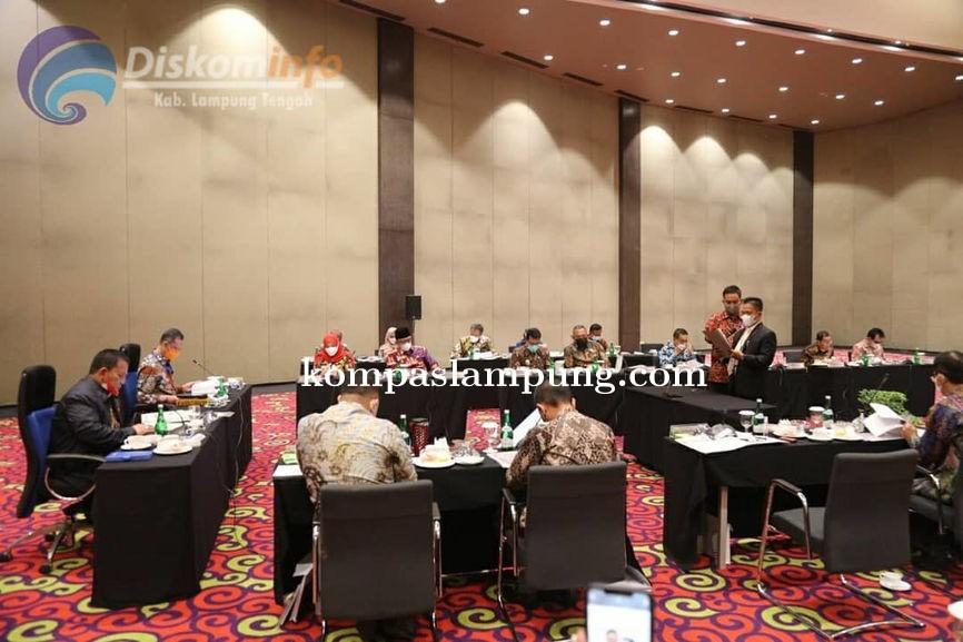 Wakil Bupati Lamteng Hadiri RUPS-LB, Bank LampungTahun 2021