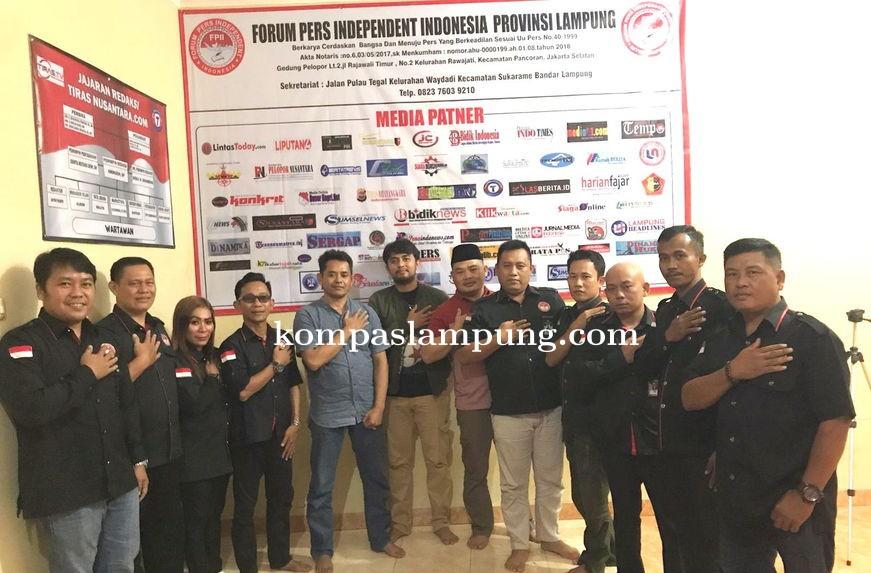 Jajaran Dir Intelkam Polda Lampung Kunjungi FPII Setwil Lampung