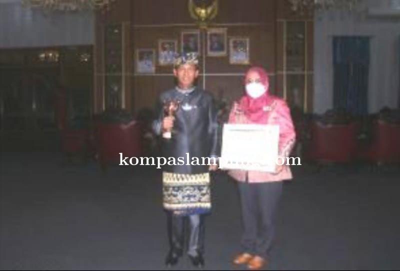 Kabupaten Lampura Raih Penghargaan Anugerah APE Kategori Pratama
