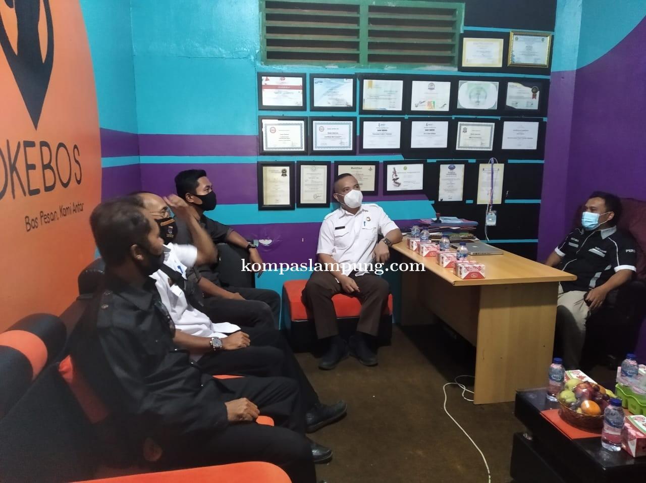 DPC PJI-D Terima Kunjungan Kerja Dari Forkompinda Kota Metro