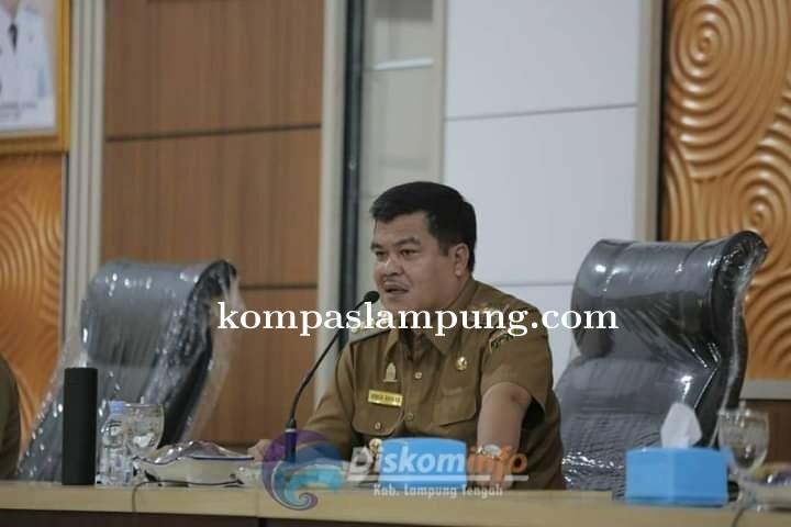 Arahan Bupati Lampung Tengah Musa Ahmad Pada Rapat Koordinasi