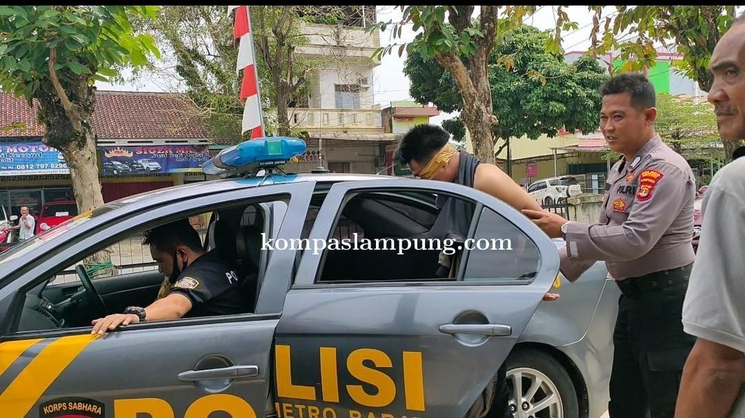 Pembobol Rumah Di Metro Barat  Warga Asal Lampung Timur Dihakimi Masa