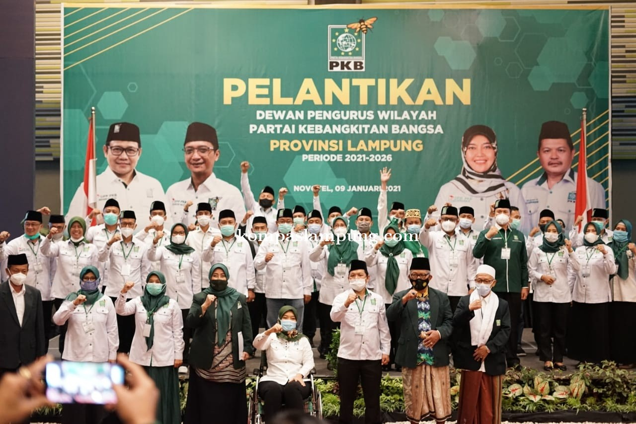 Muswil DPW PKB Lampung, Nunik Kembali Pimpin PKB Lampung Periode 2021-2026