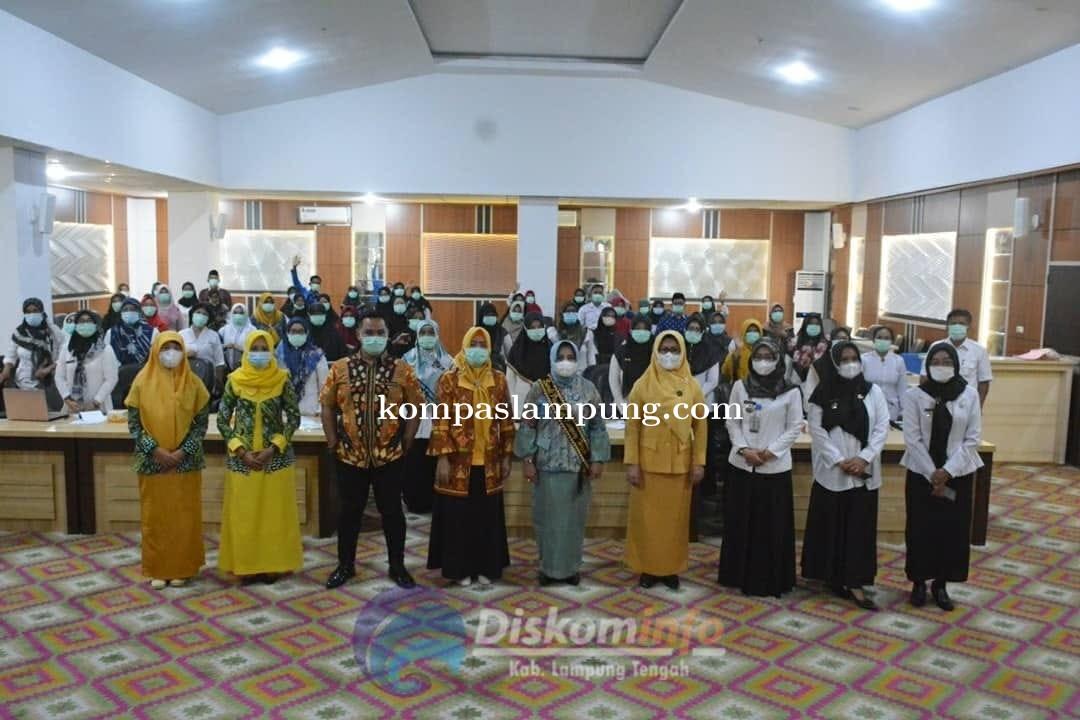Sambutan Bunda PAUD Pada Kegiatan Sosialisasi Akreditasi BAN PAUD Dan PNF Lampung