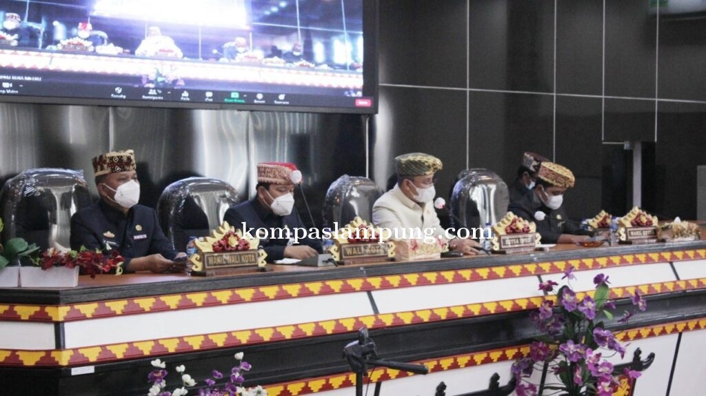 DPRD Metro Rapat Paripurna Tentang Pelaksanaan APBD Thn 2020