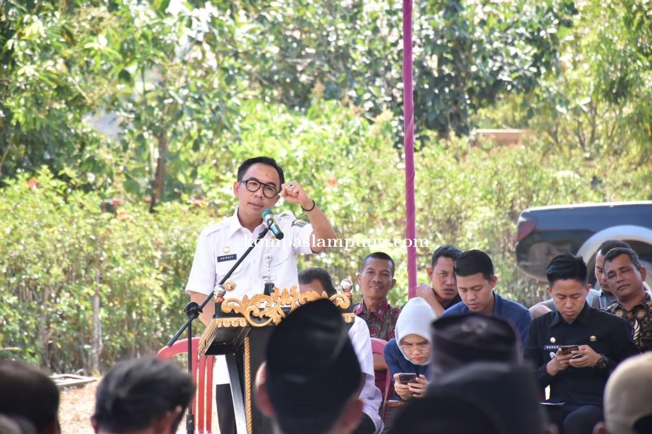 Bupati Raden Adipati Surya Hadiri Peringatan HUT Ke-53 Kampung Donomulyo