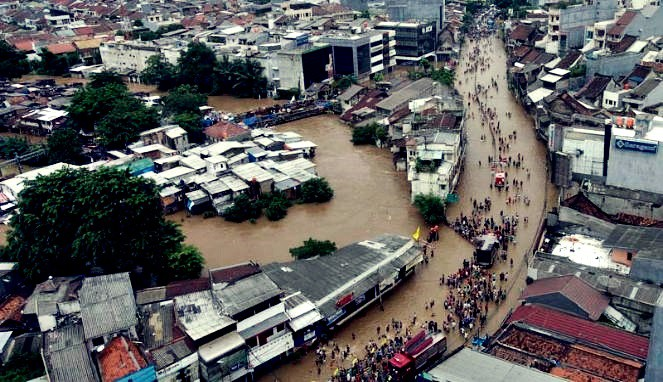 Banjir Jakarta, Kerugian Ekonomi Capai Rp 1 Triliun
