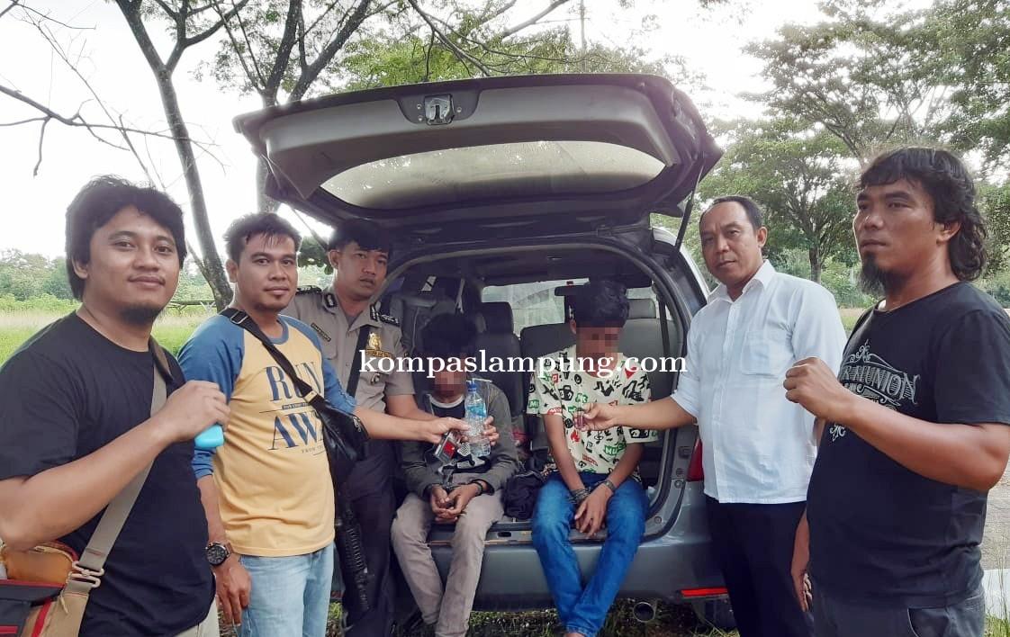 Asyik Pesta Narkotika Dua Warga Menggala Ditangkap Polisi
