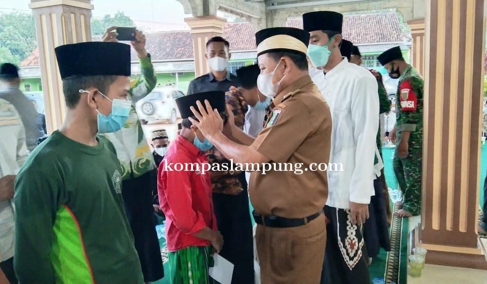 Pemkab Lampung Timur Santuni Yatim Piatu Di Kecamatan Mataram Baru