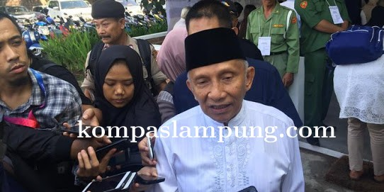 Amien Rais Yakin Prabowo-Sandi Menang di Pilpres 2019