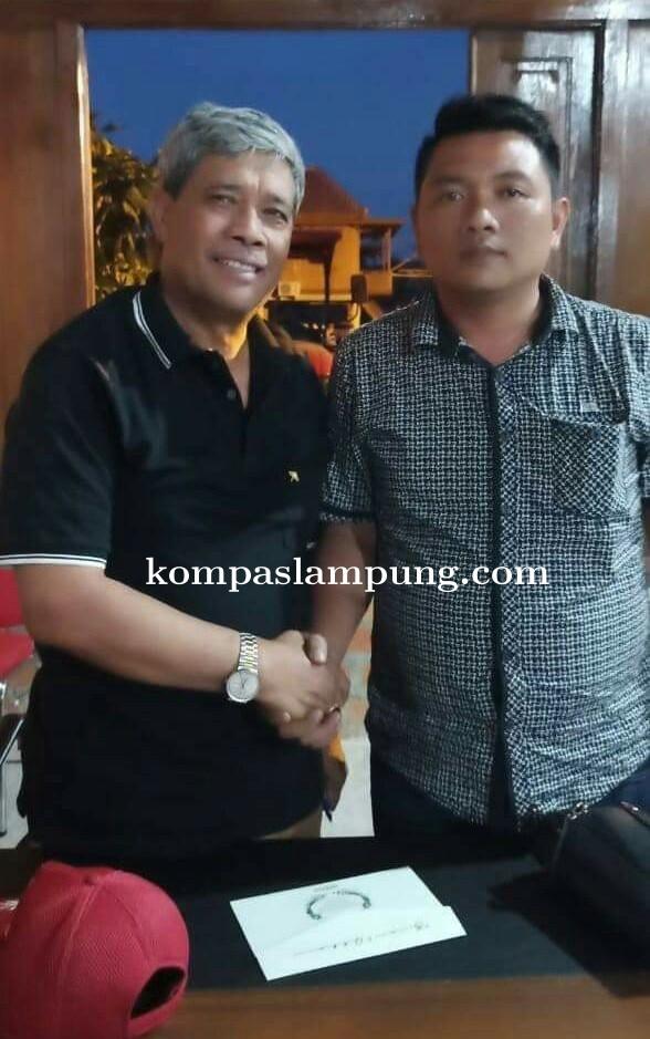 LSM Infosos Lamteng Hidayat Beri Dukungan Untuk  Loekman Djoyosoemarto