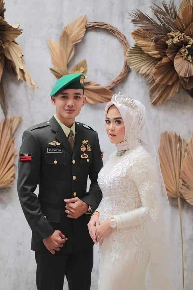 Tekan Penyebaran Covid-19  Resepsi Pernikahan Salah Satu Anggota TNI Ditunda